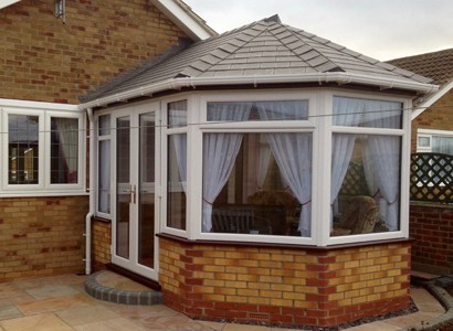 replacement roof for old conservatory